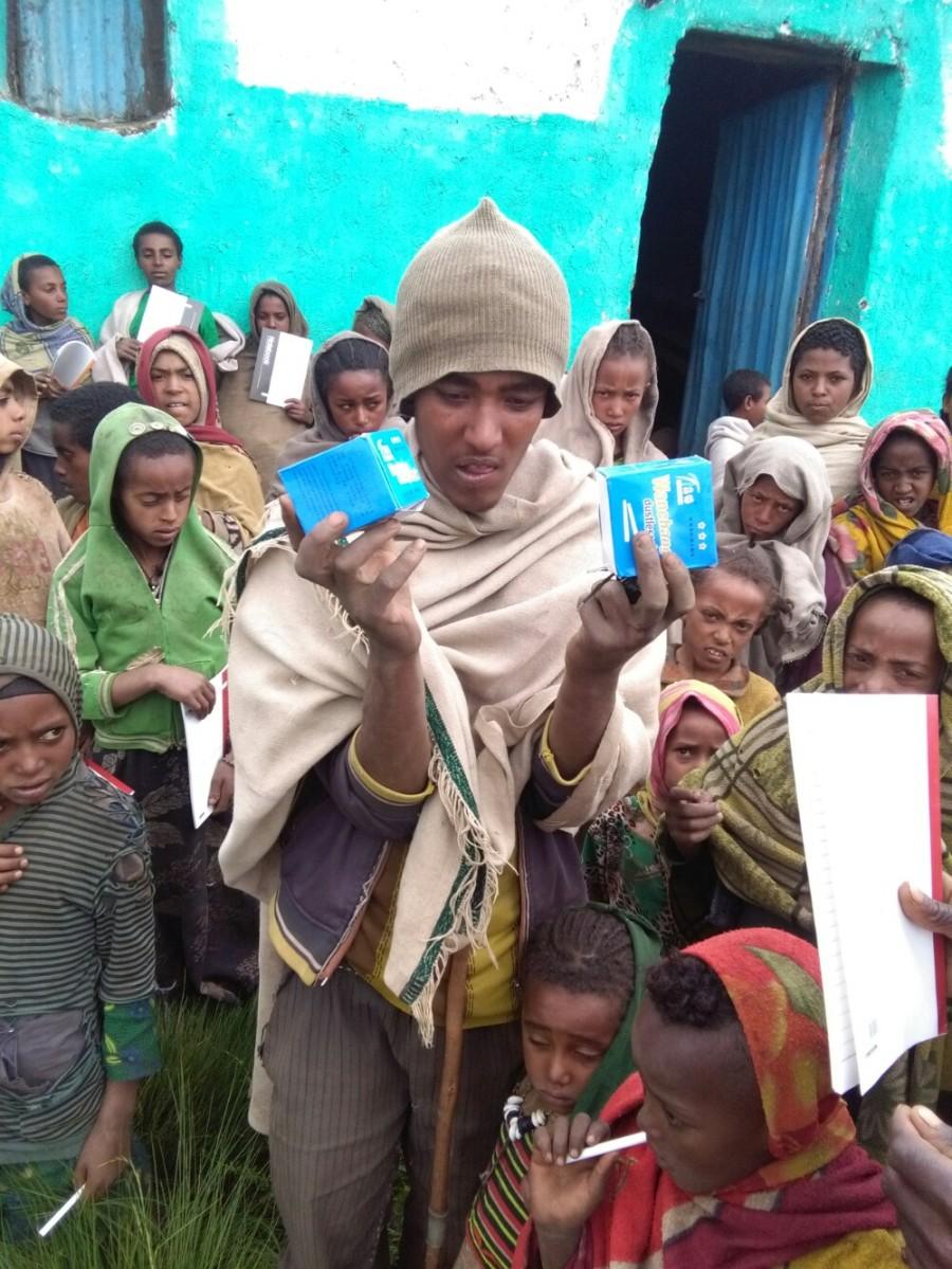 Schooling on Mount Abuna Yosef!