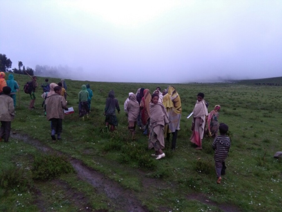 Community trek in Lalibela