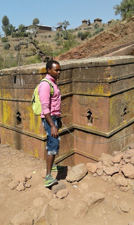Community tour in Ethiopia